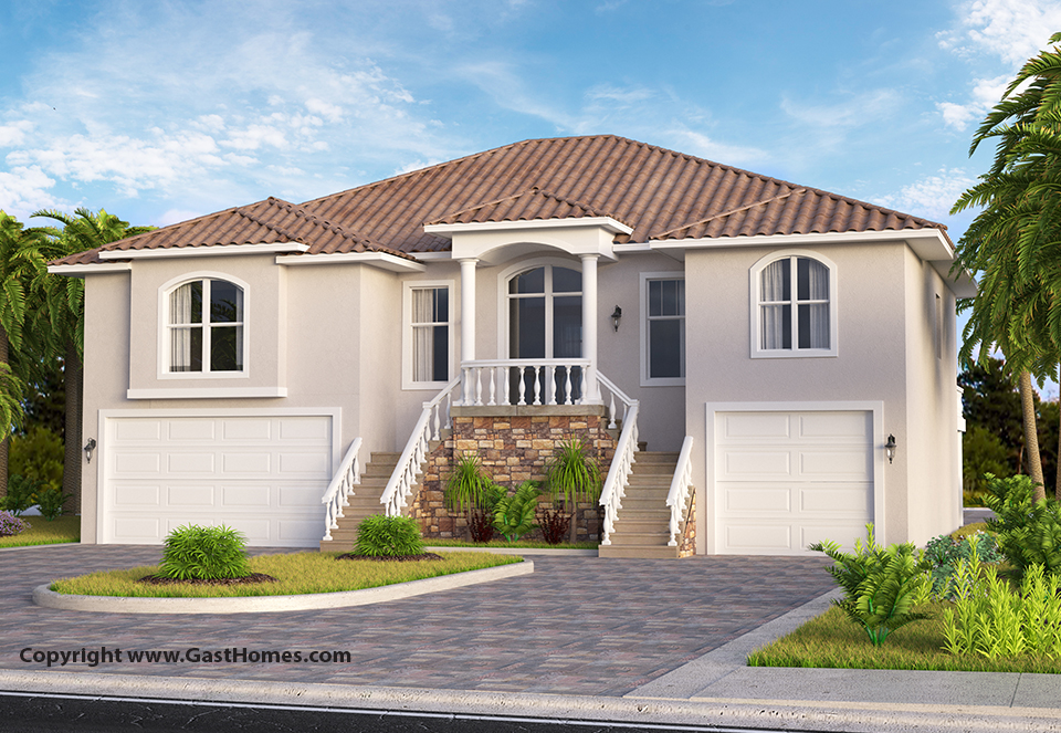 Shell Key | Florida House Plan | Gast Homes