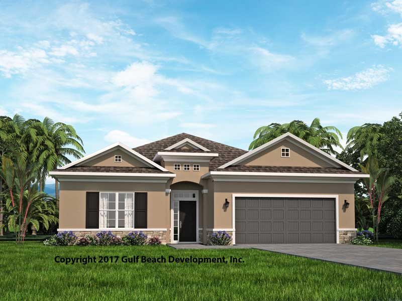 Cedar Grove Florida House Plan Gast Homes