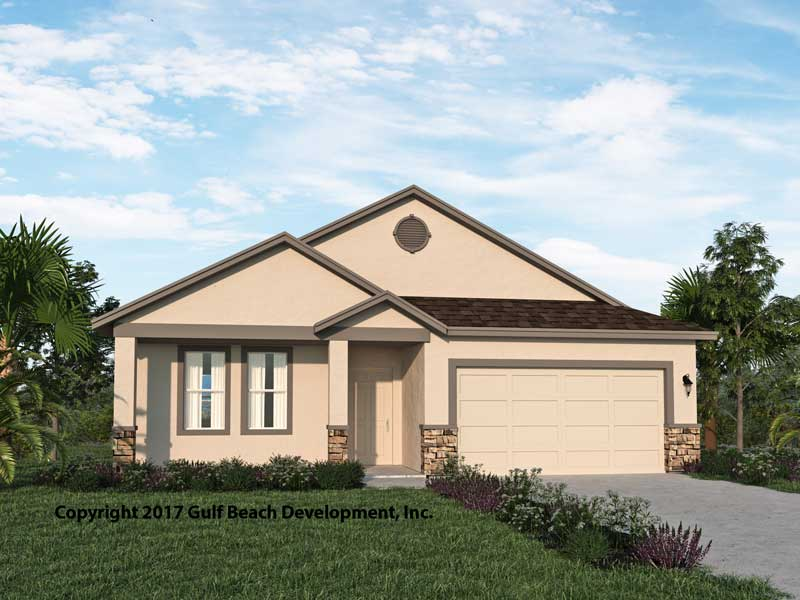 Royal Oaks Florida House Plan Gast Homes