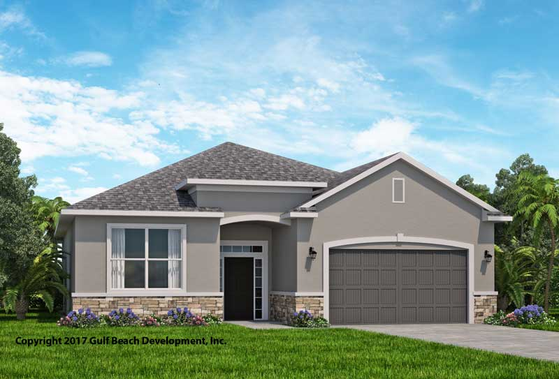 Summerport florida house plan gast homes for Icf houses for sale