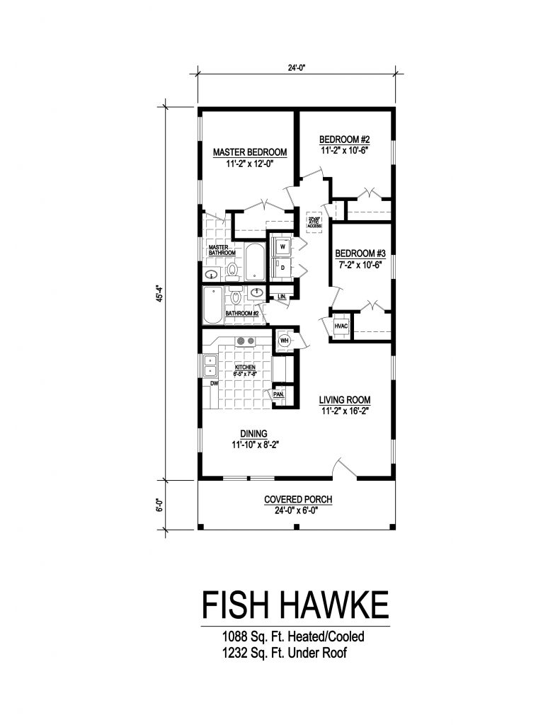 Fish Hawke Florida Modular Floor Plan by Affinity