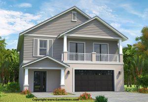 Bella Bay elevated home plan