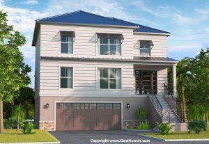 Breeze Harbor Coastal House Plan