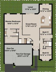 Crestridge ICF house plan floor plan