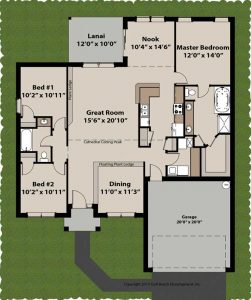 Grandview ICF home plan floor plan